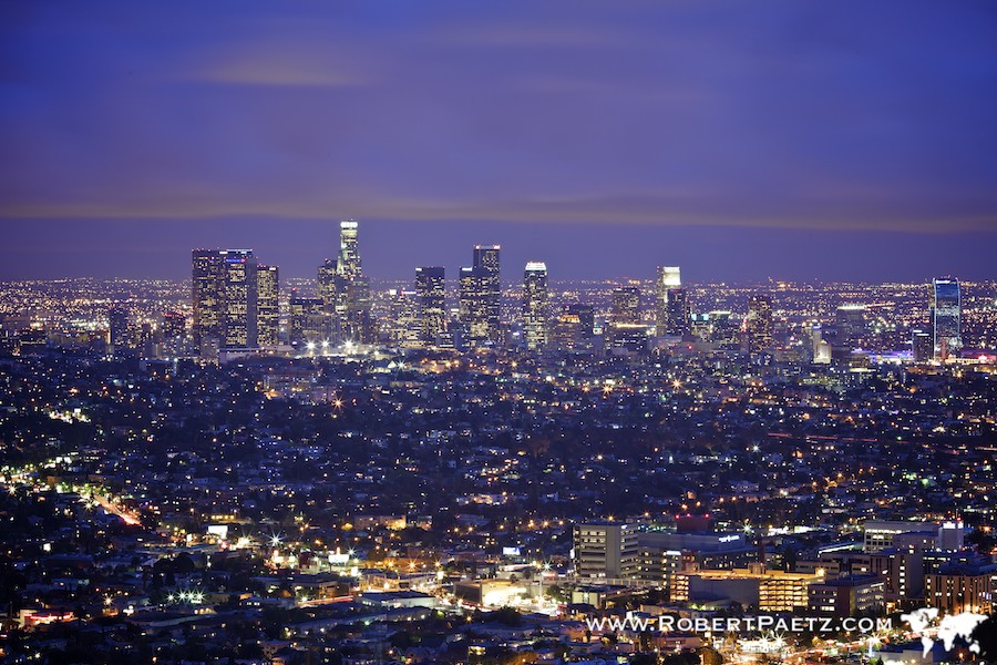Los, Angeles, Night, Photography