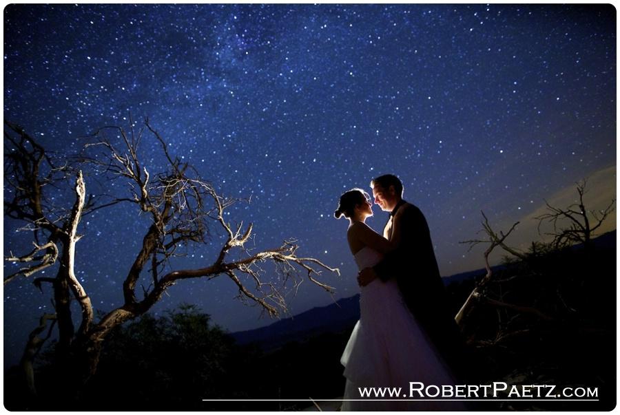 Sarah Jeff Death Valley Astro Wedding Photography