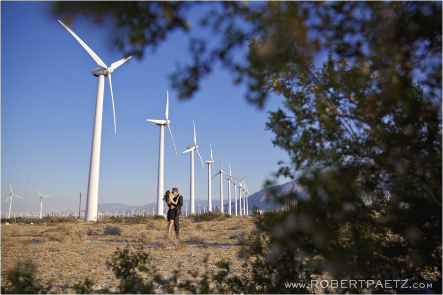 Palm, Springs, Windmill, Engagement, Photography, Photographer, Desert