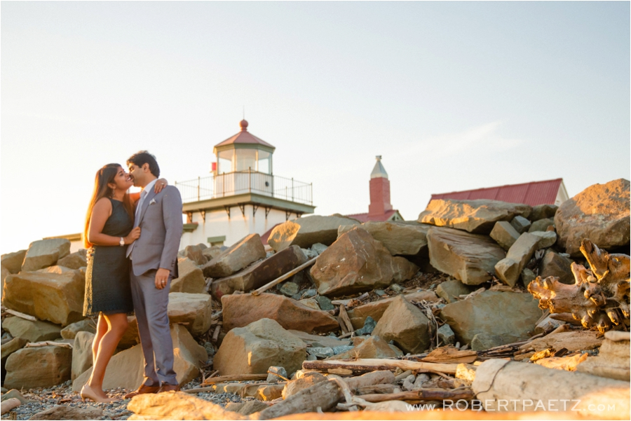 Seattle, Indian, Pre, Wedding, Photo, Photography, Photographer, Gas, Works, Discovery, Park, Lighthouse