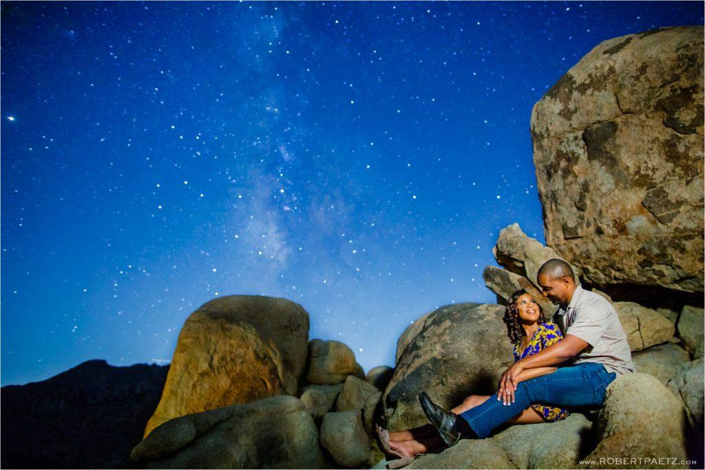 Joshua, Tree, National, Park, Astro, Astrophotography, Engagement, Wedding, Anniversary, Stars, Milky, Way