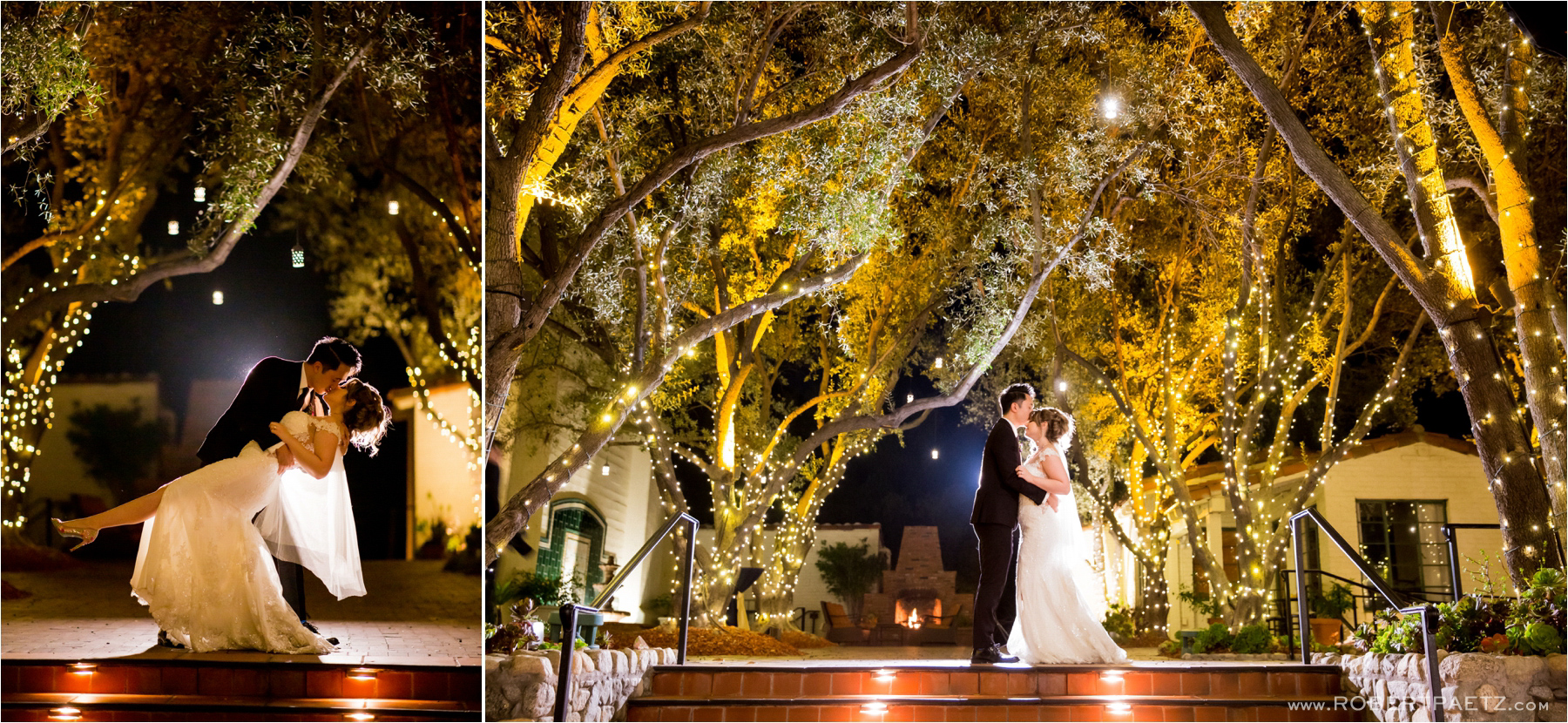 A wedding at the historic Padua Hills Theater in Claremont California photographed by the Los Angeles wedding photographer, Robert Paetz.