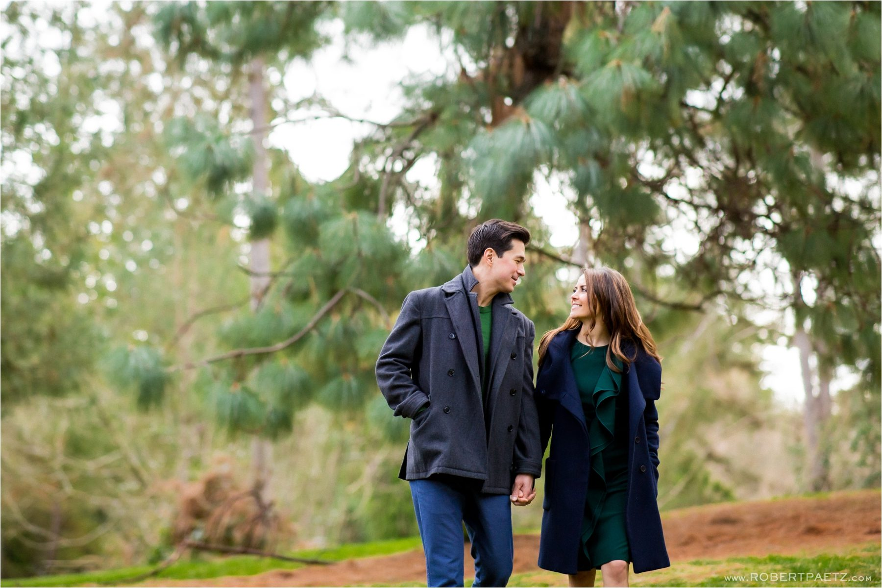 An engagement photography session in the South Lake Union area of Seattle, Washington; photographed by the west coast wedding photographer, Robert Paetz.