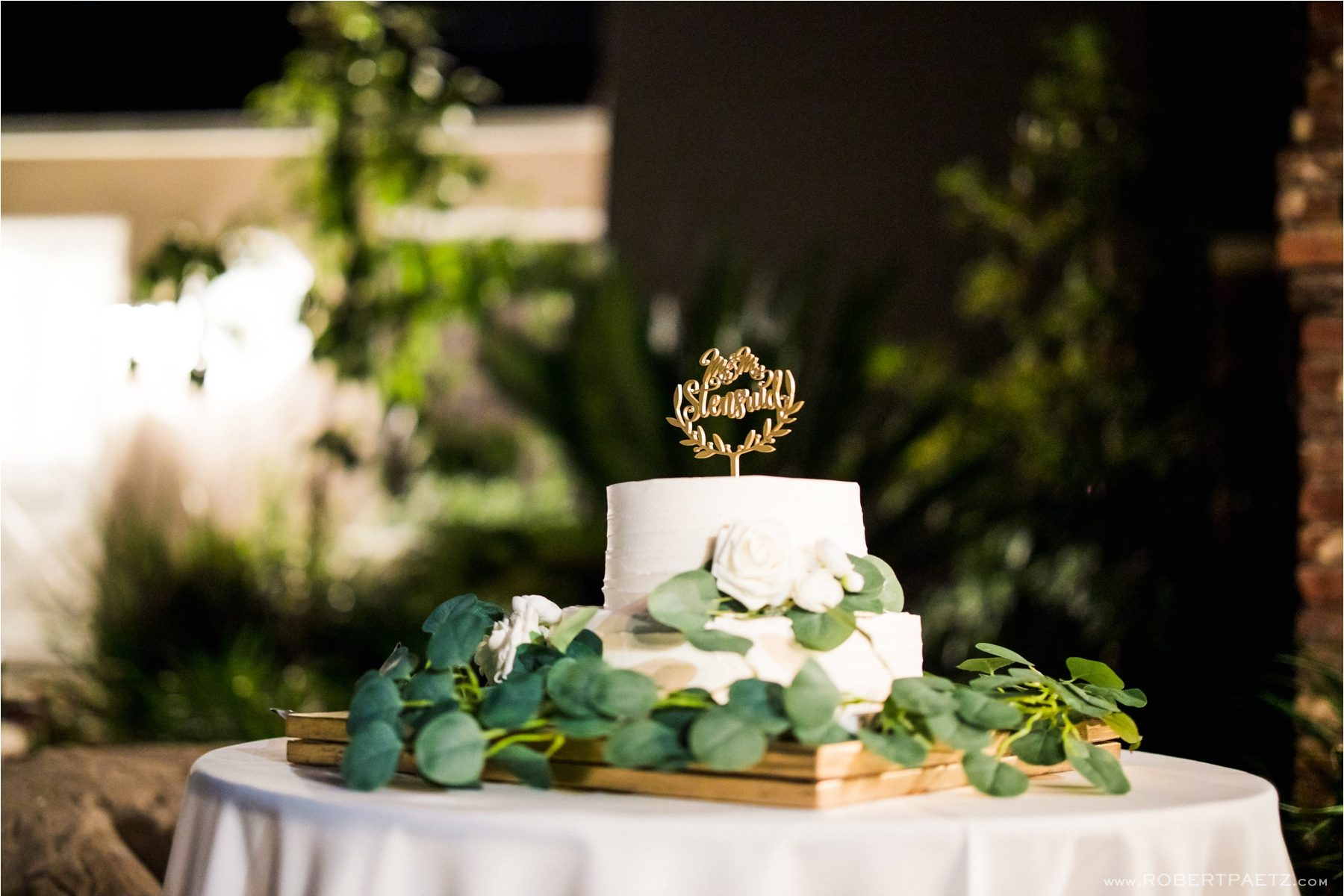 A backyard, social distanced, Zoom wedding in Arcadia, California, during the Covid-19 pandemic photographed by the destination wedding photographer, Robert Paetz.